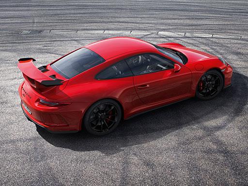 Née à Flacht. Nouvelle 911 GT3.