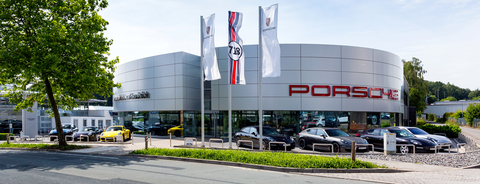Le Centre Porsche de Osnabrück